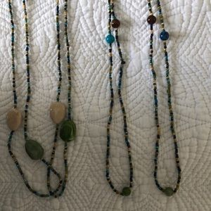Jewelry - Multi-color Beaded Necklaces 2 for 1